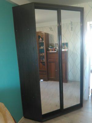 Угловой шкаф-купе ВУ1200 (зеркала)