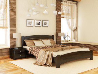Кровать Венеция Люкс (щит) - венге (106)