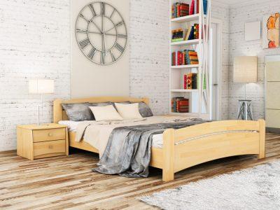 Кровать Венеция (щит) - бук натуральный (102)