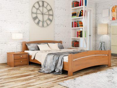 Кровать Венеция (щит) - ольха (105)