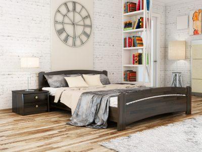 Кровать Венеция (щит) - венге (106)