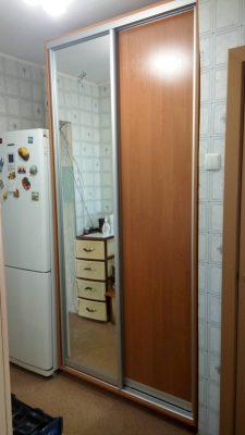 Шкаф купе В114 (ДСП+зеркало)