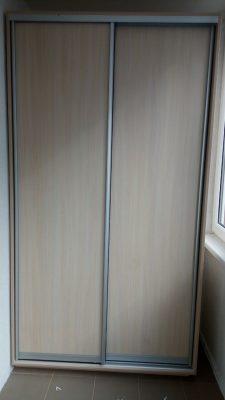 Шкаф-купе В136 (фасады: ДСП)