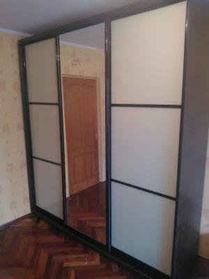 Шкаф-купе В226 (фасады-СТ+зеркало)