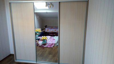 Шкаф купе В276 (ДСП+зеркало)