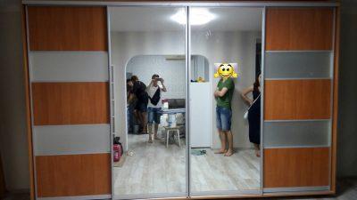 Шкаф купе В376 (зеркала+CT)