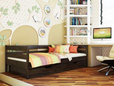 Кровать Нота (щит) - венге (106)