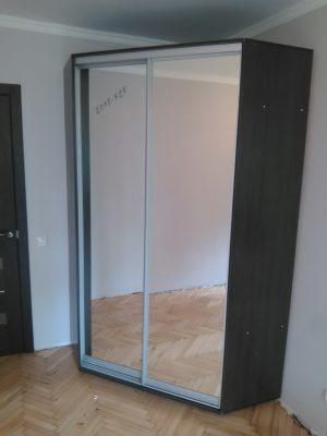 Угловой шкаф-купе ОУ1200 (зеркала)
