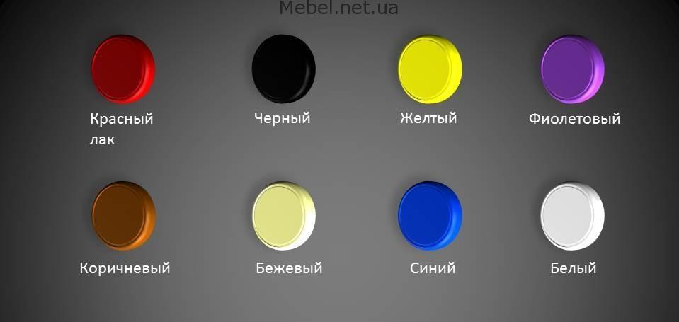 Образцы цветов металла