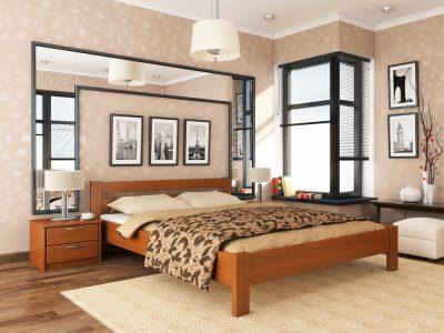 Кровать Рената (массив) - ольха (105)