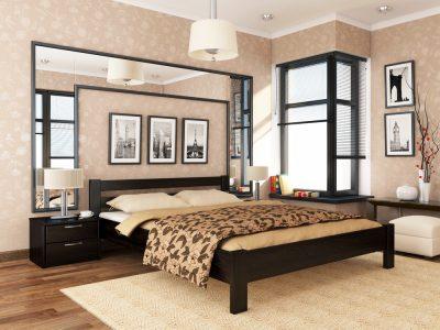 Кровать Рената (массив) - венге (106)