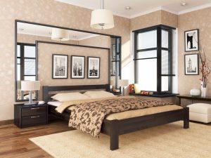Кровать Рената (щит) - венге (106)