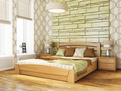 Кровать Селена Аури (щит) - бук натуральный (102)