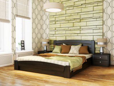 Кровать Селена Аури (щит) - венге (106)