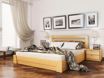 Кровать Селена (массив) - бук натуральный (102)