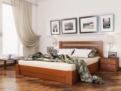 Кровать Селена (массив) - ольха (105)