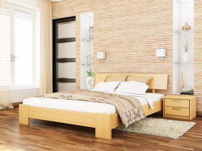 Кровать Титан (массив) - бук натуральный (102)