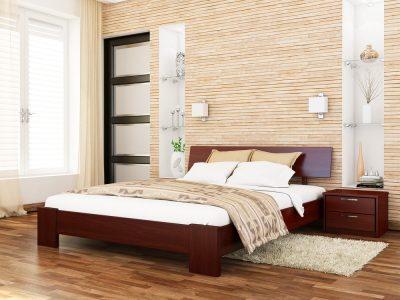 Кровать Титан (массив) - красное дерево (104)