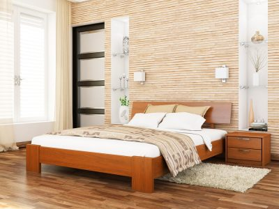 Кровать Титан (массив) - ольха (105)