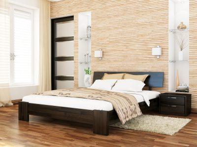 Кровать Титан (щит) - венге (106)