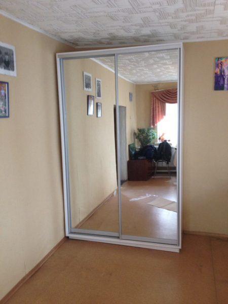 Шкаф-купе Ф156 (зеркала)