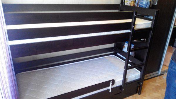 Кровать Дуэт - венге_