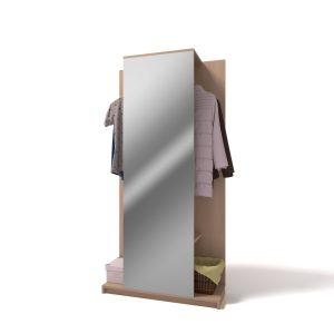 Вешалка с зеркалом 2018Ш