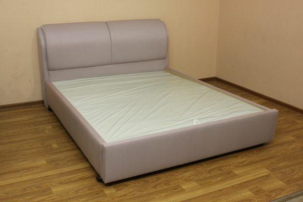 Кровать Афина (ткань глоси дасти роуз)