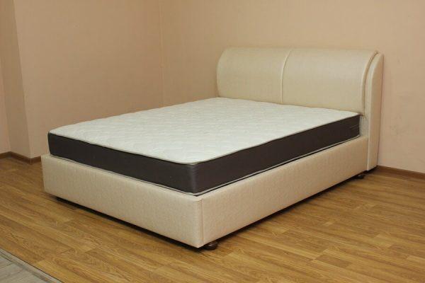 Кровать Афина (ткань стоун перл роуз)