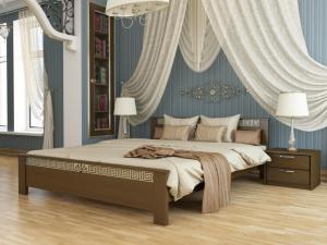 Кровать Афина - темный орех (101)