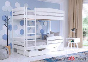 Кровать Дуэт Плюс (цвет 107) массив