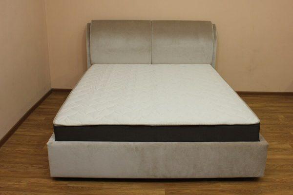 Кровать Афина (ткань гелакси лт грей)