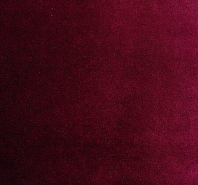 Ткань Альмира 17 Burgundy Red Shine - велюр вязаный