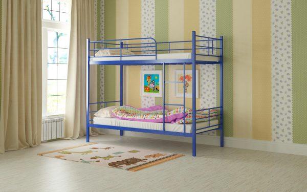 Кровать Емма - синий (2)