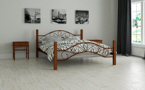 Кровать Фелисити - коричневый