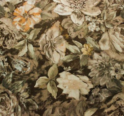 Ткань Фиона Flower Beige - велюр шлифованный