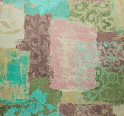 Ткань Фиона Vintage Lilac - велюр шлифованный