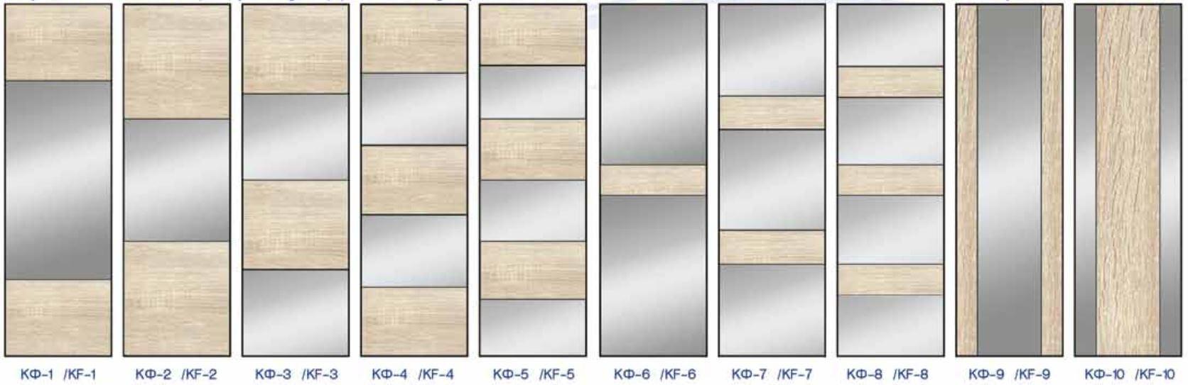 Комбинированные фасады серии S