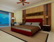Кровать Аполлон - бордо