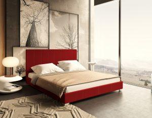Кровать Бест - бордо