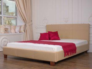 Мягкая кровать Каролина - фото 2 - интерьер