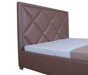 Мягкая кровать Доминик - фото 3 - изголовье