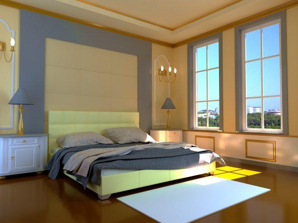 Кровать Гера - бежевый