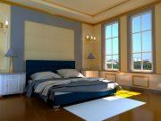 Кровать Гера - синий