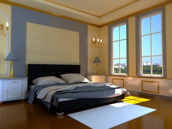 Кровать Гера - черный