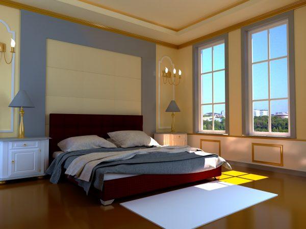 Кровать Гера - бордо