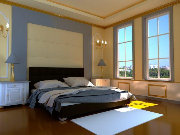 Кровать Гера - коричневый