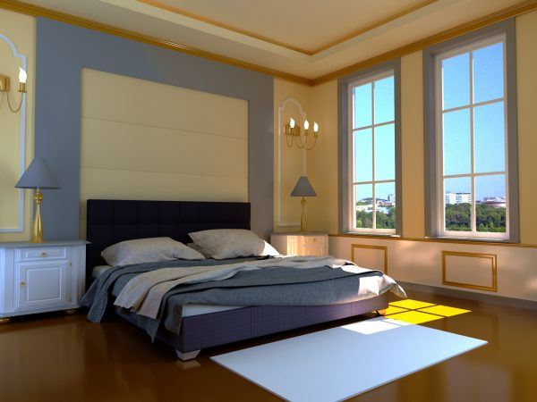 Кровать Гера - серый