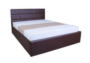 Мягкая кровать Джина с подъемным механизмом - с матрасом - 1
