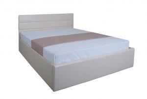 Мягкая кровать Джейн с подъемным механизмом - с матрасом - 1